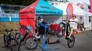 Electric Bike Action na cyklistickém festivalu Test & Expo 2018